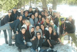 FAMILY WINTER CAMP REPORT 2010