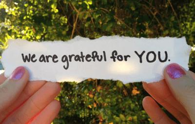 Grateful…
